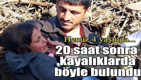 Diyarbakır'da kayıp kız çocuğu 20 saat sonra bulundu
