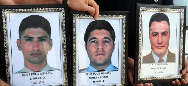 Diyarbakır'da Trafik Kazasında 3 Polis Şehit Oldu - Ek Fotoğraflar