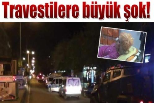 Diyarbakır'da travestilere şok saldırı