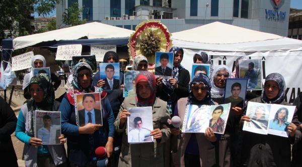 Diyarbakır'daki Annelerin Umudu Ankara'da