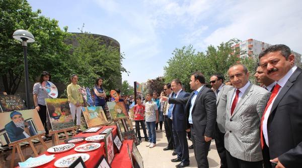 Diyarbakır'ın Tarihi Surları Gölgesinde Sergi