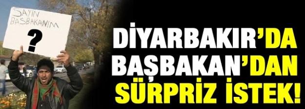 Diyarbakır'lı genç Başbakan'dan öyle bir şey istedi ki...