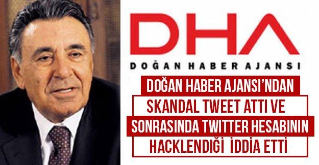 Doğan Haber Ajansı'ndan skandal tweet ve sonrasında hacklendik açıklaması yaptı...