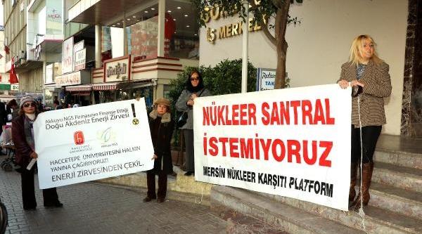 Doğu Akdeniz Enerji Güvenliği Kongresi'ne Çevreci Tepkisi