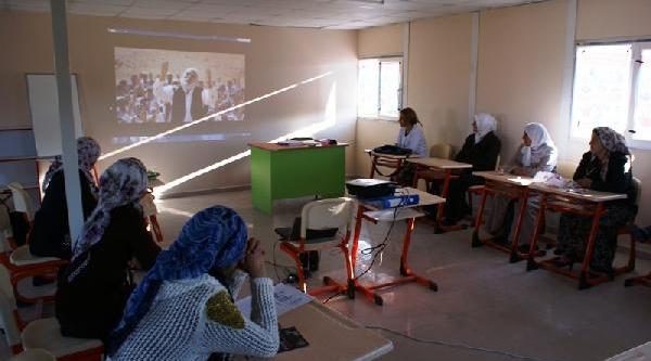 Doğubayazit'ta Kadinlar Için Kurs Ve Seminerler