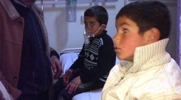 Doğubayazit'ta Okulda Zehirlenen 28 Öğrenci Tedaviye Alindi