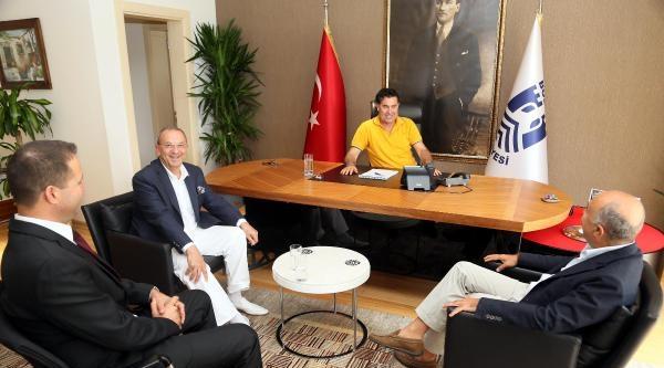 Doğuş Holding'ten Başkan Kocadon'a Ziyaret