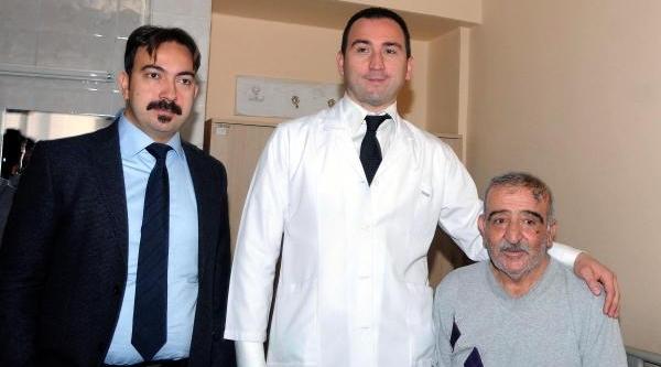 Doktorlar Toplardamardaki Pihtiyi Yeni Yöntemle Eritti