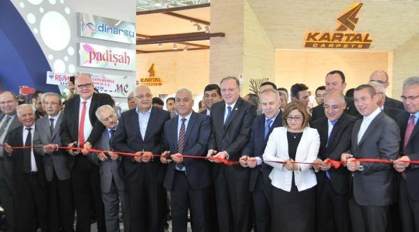 Domotex Halı Fuarı Gaziantep'te Açıldı