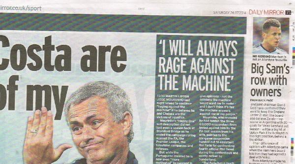 Drogba, İngiliz Basınının Manşetlerini Süslemeye Devam Ediyor