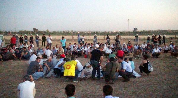 Dünya Barış Gününde Suriye Sınırında Işid'e Karşı Eylem