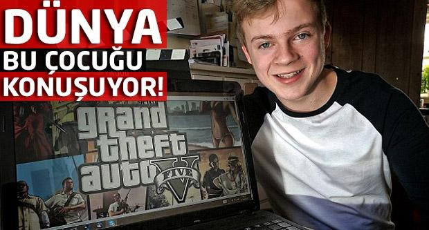 Dünya bu çocuğu konuşuyor!Ayda 7 bin lira kazanıyor!