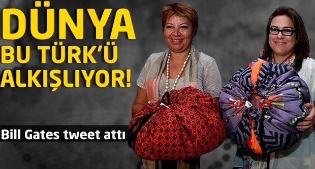 Dünya bu Türk'ü alkışlıyor...