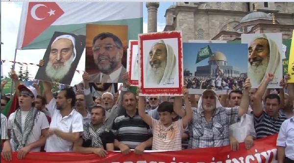 'dünya Kudüs Günü' Yürüyüşünde Abd Ve İsrail Bayrakları Yakıldı