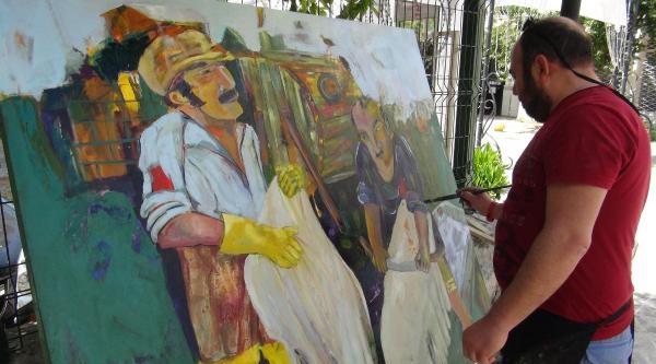 Dünya Ressamları Kuşadası'nda