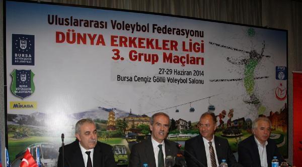 Dünya Voleybolunun Kalbi Bursa'da Atacak