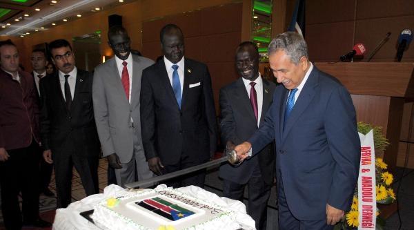 Dünyanın En Genç Ülkesi Güney Sudan'ın Milli Günü Resepsiyonu