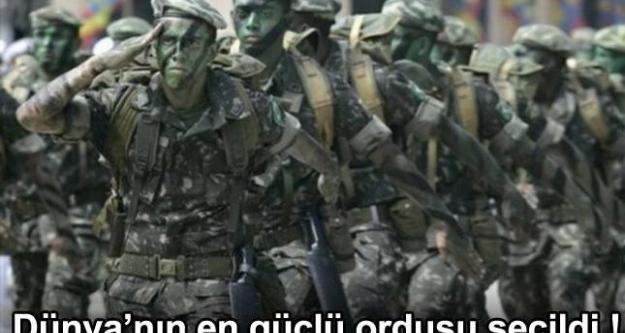 Dünyanın en güçlü 10 ordusu !