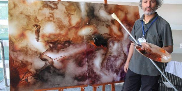 Dünya'nın Ressamları Kto Karatay Üniversitesi'nde Buluştu