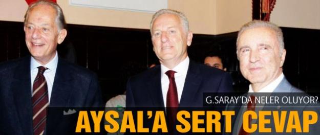 Dürüst'ten Aysal'a sert cevap!