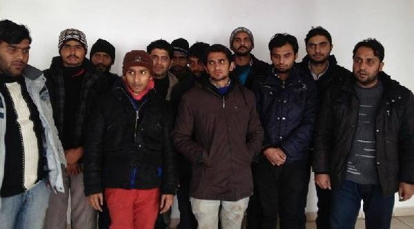 Düzce'de 12 Kaçak Yakalandi