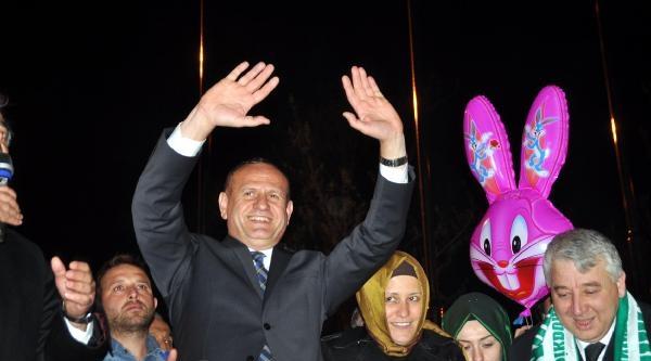 Düzce'de Ak Parti'nin Adayı Kazandı (2)