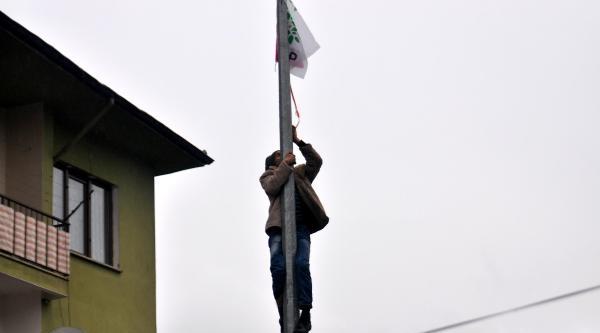 Düzce'de Hdp Protestosu (2)