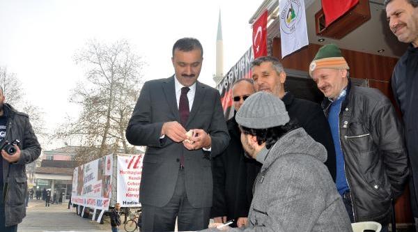 Düzce'de Suriye Için Yardim Kampanyasi