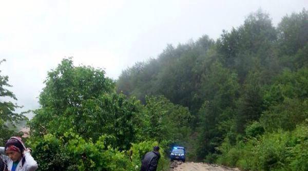 Düzce'de Yağmur Etkili Oldu