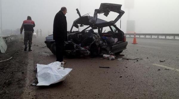 Düzce'de Yoğun Sis Kazasi: 1 Ölü, 4 Yarali