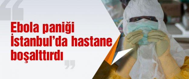 Ebola var diye hastane boşaltıldı sonra da...