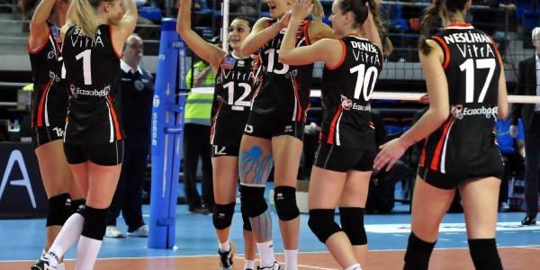 Eczacibaşi Vitra, 2014 Cev Denizbank Şampiyonlar Ligi'ne Galibiyetle Başladi