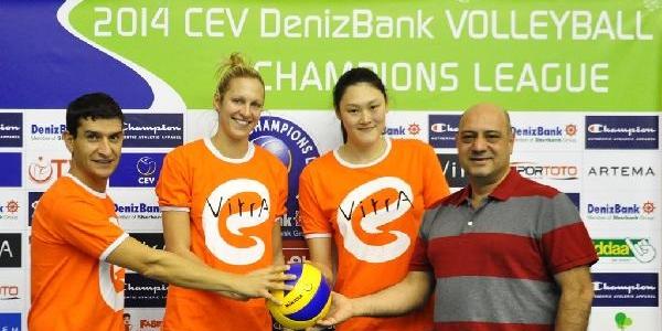Eczacibaşi Vitra, Şampiyonlar Ligi'ne Hazir