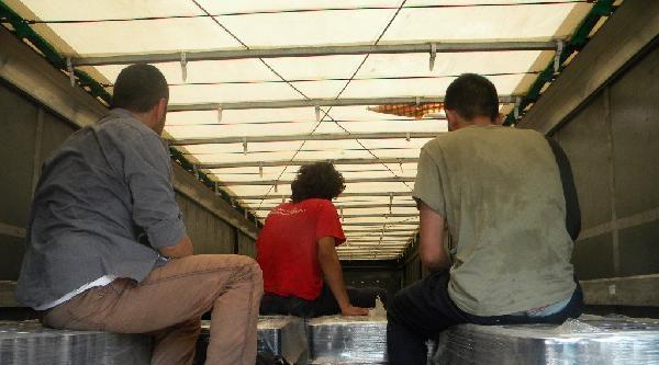 Edirne Sınır Kapılarında 10 Kaçak Yakalandı