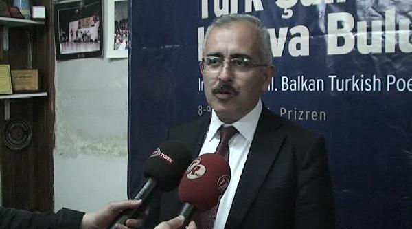Edirne Valisi, 3. Balkan Türk Şairleri Prizren Buluşmasına Katıldı