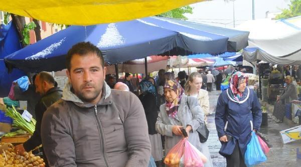 Edirne Ve Kırklareli'nde Sağanak Yağmur
