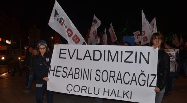 Edirne Ve Tekirdağ'da Berkin Elvan Yürüyüşü