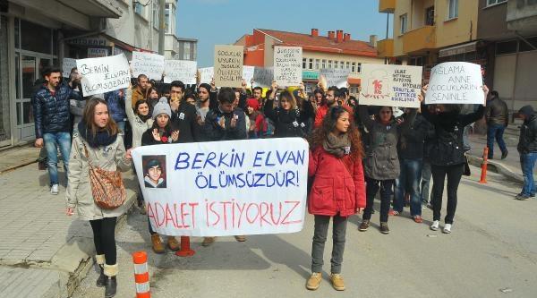 Edirne'de Berkin Elvan Eylemi
