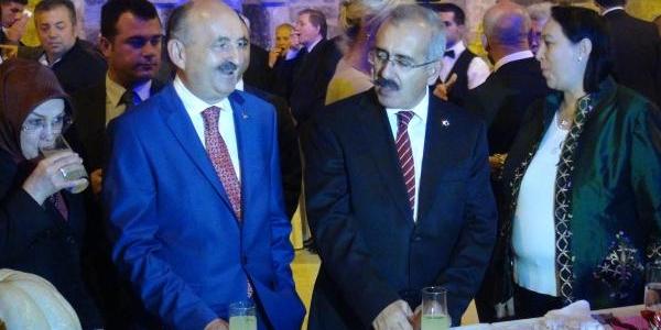 Edirne'de Cumhuriyet Resepsiyonuna Bakan Müezzinoğlu'da Katildi