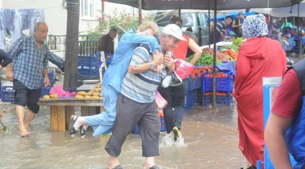 Edirne'de Fırtına Ağaçları Devirdi- Ek Fotoğraflar
