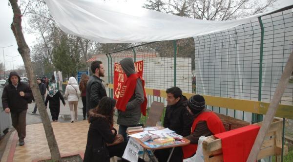 Edirne'de Üniversiteden Uzaklaştırılan Öğrencilerden Açlık Grevi