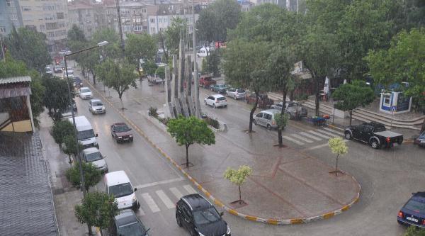 Edirne'de Yağmur Etkili Oldu (2)