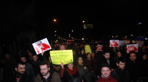 Edirne'de Yolsuzluğa Karşı Yürüyüş Düzenlendi