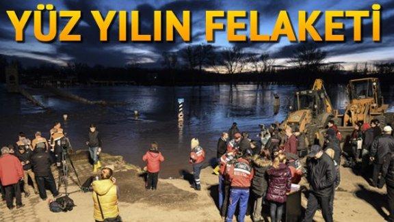 Edirne'de yüzlerce kişi tahliye ediliyor