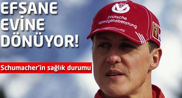 Efsane evine dönüyor! Schumacher'in sağlık durumu...