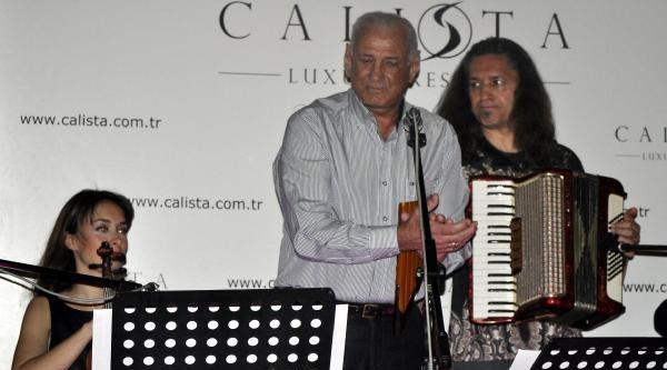 Efsanevi Besteci Zamfir Antalya'da