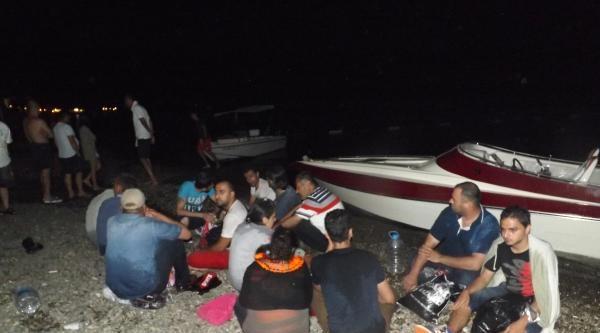 Ege Kıyılarında Kaçak Göçmen Operasyonları (2)