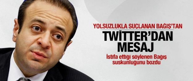 Egemen Bağış'tan operasyon tweeti...