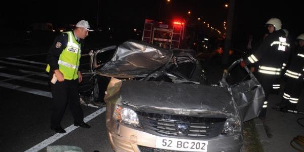 Ehliyetsiz Sürücü Trafikte Terör Estirdi: 2 Ölü, 4 Yarali