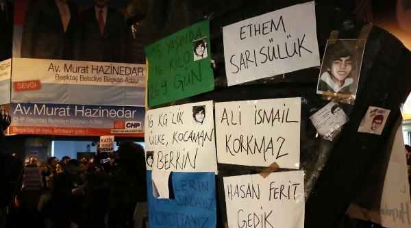Ek Bilgi Ve Fotoğraflar / Beşiktaş'ta Berkin Elvan Eylemi